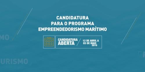 Candidaturas para o programa Empreendedorismo Marítimo estão abertas até 03 de maio